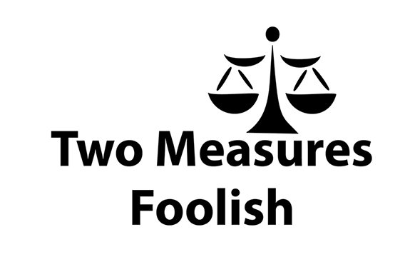 Two Measures Foolish Logo